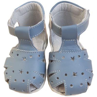 Sandale bleu pal